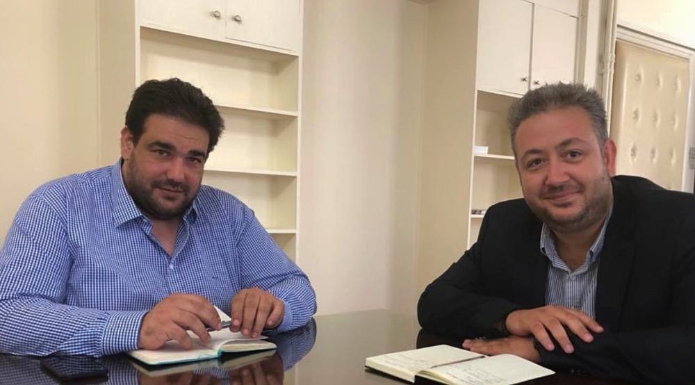 Συνάντηση Παντελή Τσακίρη-Θοδωρή Λιβάνιο